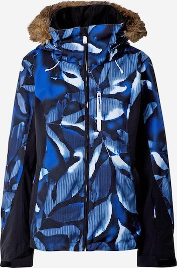 ROXY Sportjacke 'JET' in blau / schwarz / weiß, Produktansicht