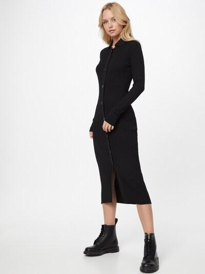 River Island Pletené šaty - čierna, Model/-ka