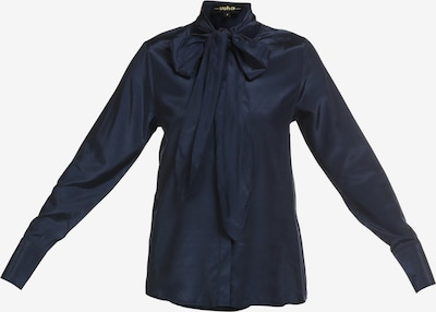 usha BLACK LABEL Bluse in dunkelblau, Produktansicht