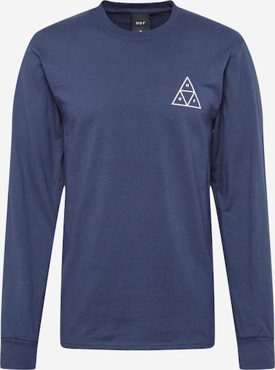 HUF T-Shirt en bleu marine / blanc, Vue avec produit
