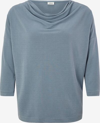 s.Oliver BLACK LABEL Shirt in de kleur Lichtblauw, Productweergave