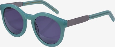 LDNR Retrosonnenbrille COMPTON in blau, Produktansicht