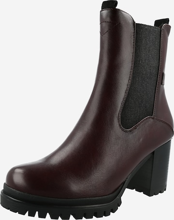 TOM TAILOR Chelsea Boots i rød