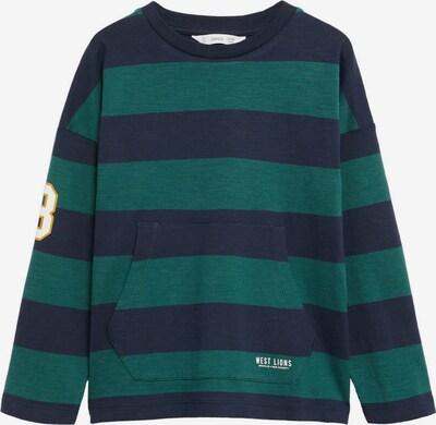 MANGO KIDS T-shirt 'RUGBY' i nattblå / saffran / mörkgrön / vit, Produktvy