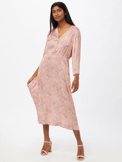 CINQUE Šaty 'CIINARO' - žlutá / růžová / černá / bílá, Model/ka