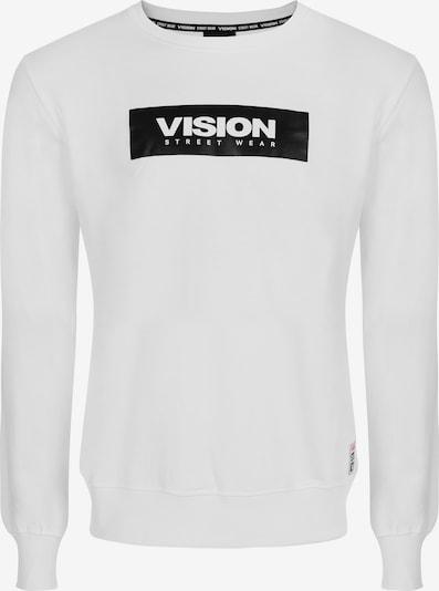 Vision Streetwear Rundhals-Sweatshirt in weiß, Produktansicht
