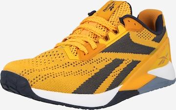 Reebok Sport Urheilukengät 'Nano X1' värissä keltainen