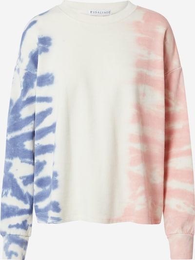 PJ Salvage Shirt in Cream / Blue / Rose, Item view