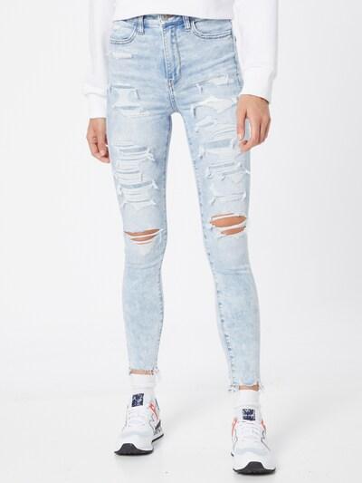 Jeans American Eagle pe albastru deschis, Vizualizare model