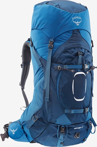 Osprey Sports Backpack 'Aether 65' in Blue