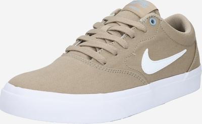 Sportbačiai be auliuko iš Nike SB , spalva - šviesiai ruda / balta, Prekių apžvalga