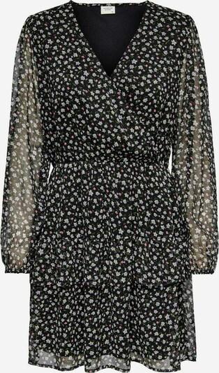JACQUELINE de YONG Kleid in grün / rosa / schwarz / weiß, Produktansicht