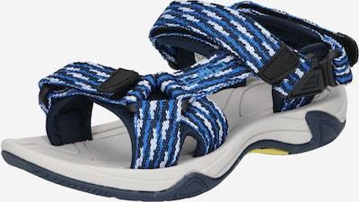 CMP Sandale 'Hamal' in navy / royalblau / weiß, Produktansicht