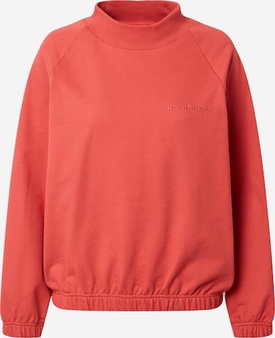 Degree Sweatshirt in orangerot, Produktansicht