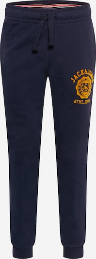 JACK & JONES Pantalon en bleu marine / jaune d'or, Vue avec produit