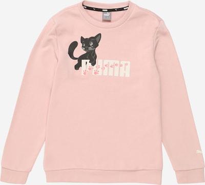 PUMA Sport-Sweatshirt 'Animals' in rosa / hellpink / schwarz / weiß, Produktansicht