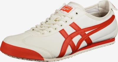 Onitsuka Tiger Sneakers in Cream / Red, Item view