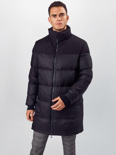 HUGO Prehoden plašč 'Magnus' | črna barva, Prikaz modela