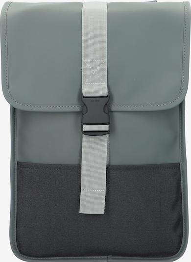 RAINS Rucksack in grau / schwarz, Produktansicht