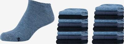 SKECHERS Socks 'Pittsburgh, 18er-Pack' in mottled blue, Item view