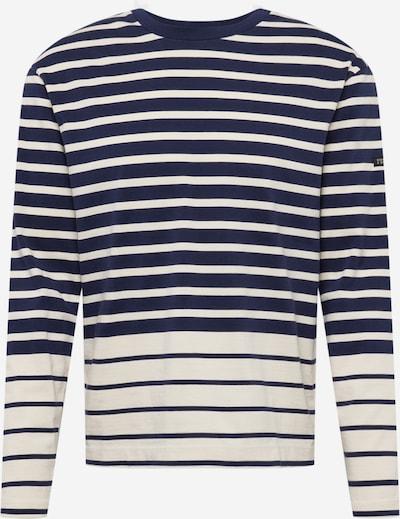 SCOTCH & SODA T-Shirt 'Breton' en bleu marine / blanc, Vue avec produit