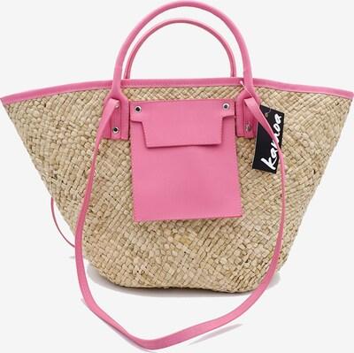 Kamoa Beach Bag in Beige / Pink, Item view