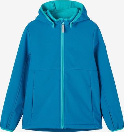 NAME IT Tussenjas 'Malta' in de kleur Turquoise / Hemelsblauw / Wit, Productweergave
