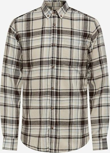 Only & Sons Hemd in creme / braun / grau / weiß, Produktansicht