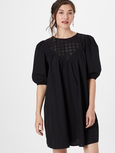 Moves Kleid 'Romana' in schwarz, Modelansicht