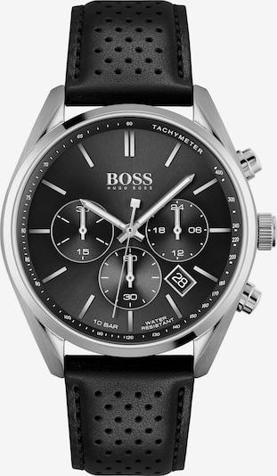 BOSS Casual Uhr 'CHAMPION' in schwarz / silber, Produktansicht