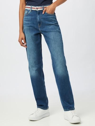 TOMMY HILFIGER Jeans 'LEA' in blue denim, Modelansicht