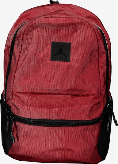 Jordan Rucksack in dunkelrot / schwarz, Produktansicht