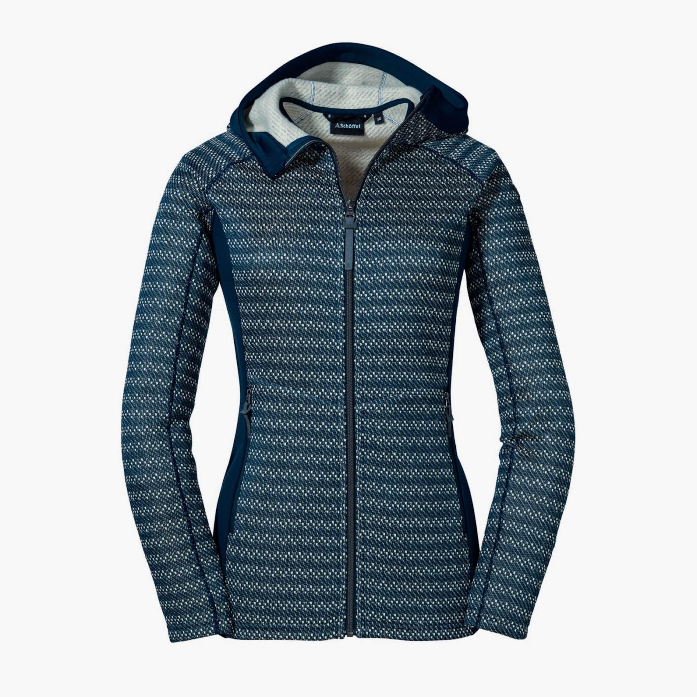 Schöffel Jacke ' Mellau L Fleece ' in blau