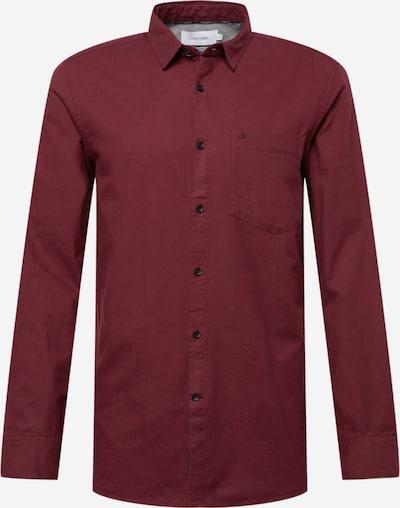 Calvin Klein Риза в винено червено, Преглед на продукта