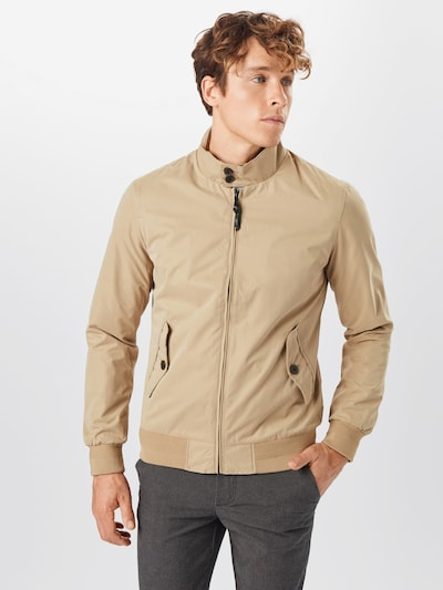 Superdry Jacke 'ICONIC HARRINGTON' in beige, Modelansicht