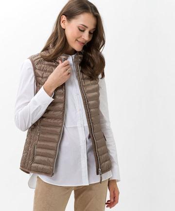 BRAX Vest 'GENF' in Brown