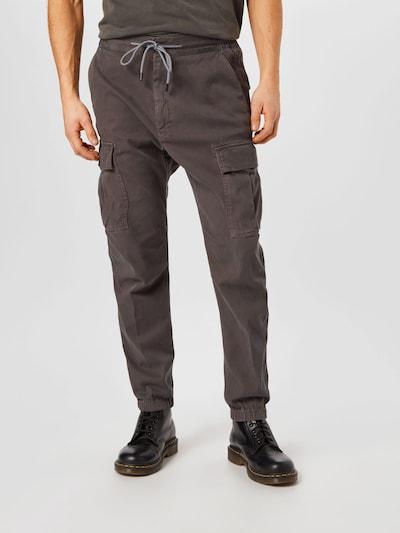 sötétszürke JOOP! Jeans Cargo nadrágok 'Mellow', Modell nézet
