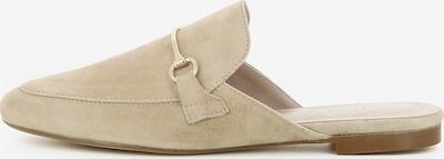 Gianluca Pisati Damen Pantolette Cindy in beige, Produktansicht
