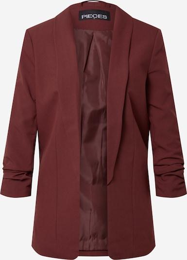 PIECES Blazer 'Boss' in burgunder, Produktansicht