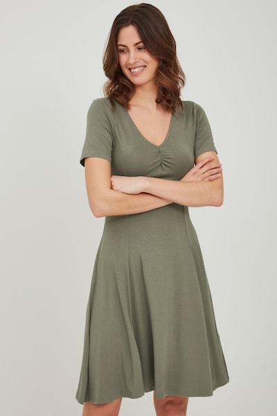 Fransa Kleid in khaki, Modelansicht