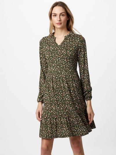EDC BY ESPRIT Kleid in creme / khaki / tanne / rosa / rot, Modelansicht