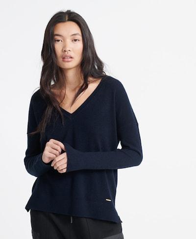 Superdry Pullover 'Edit Premium' in marine, Modelansicht