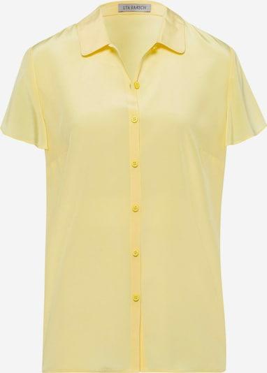 Uta Raasch Bluse mit Seide in gelb, Produktansicht