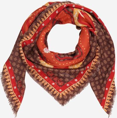 GUESS Masque en tissu en marron / rouge orangé, Vue avec produit
