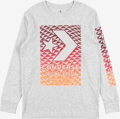 CONVERSE T-Shirt en gris clair / orange / rouge / rouge foncé, Vue avec produit