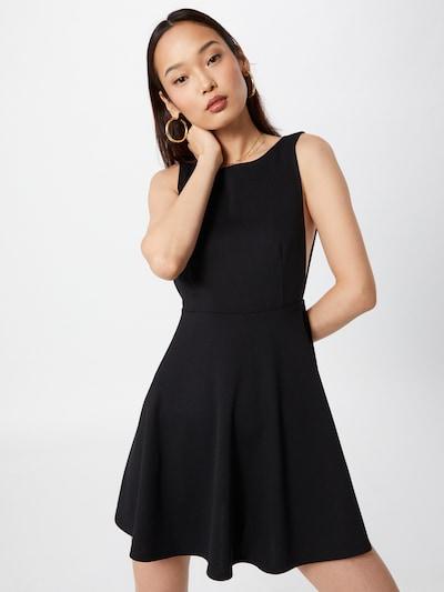 VIERVIER Šaty 'Larissa' - čierna, Model/-ka