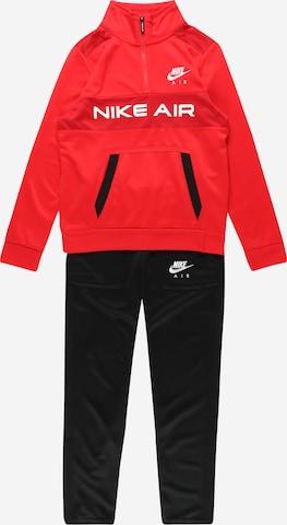 Nike Sportswear Jogginganzug in Rot