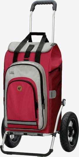Andersen Shopper Trolley in grau / rot / schwarz, Produktansicht