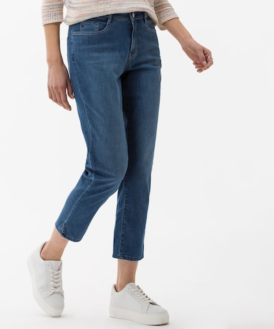 BRAX Jeans 'Mary S' in de kleur Blauw denim, Modelweergave