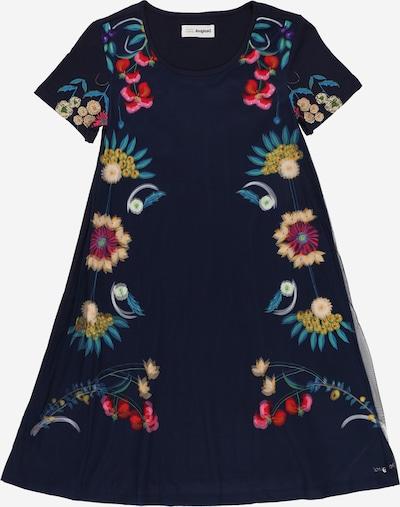 Desigual Kleid in kitt / navy / khaki / rosa / hellrot, Produktansicht
